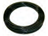 Nylonové PA RIGID Hose 1/4 HP 25m 80 Bar BLACK